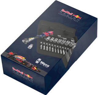 Coffret clé à cliquet Zyklop Red Bull Racing 1/4""